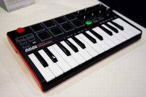 Voorbeeld mini keyboard