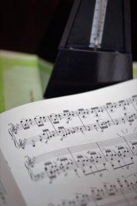 Metronoom beginnende pianist
